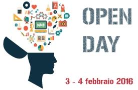 Open day il 3 e 4 febbraio